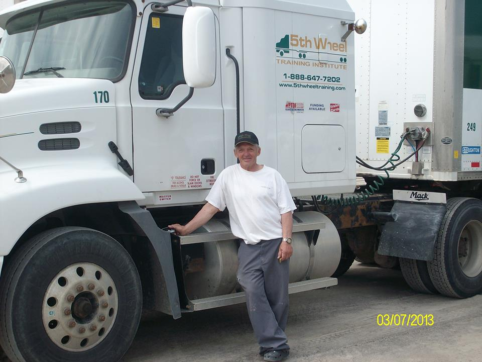 Gordon Wilson, heavy equipment operator training