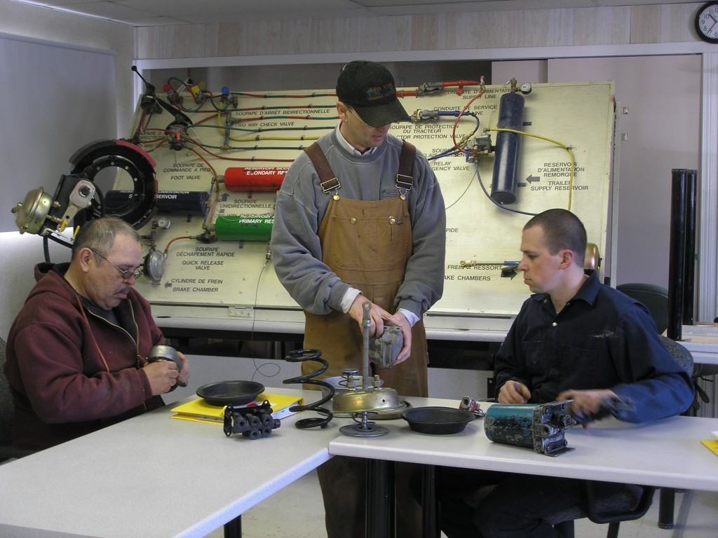 heavy equipment operator school, classroom