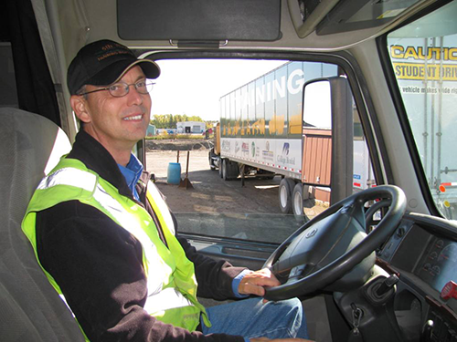 Truck Driver Training Master Truck Driver trainer