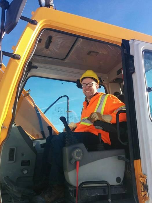 Heavy Equipment Operator Driving